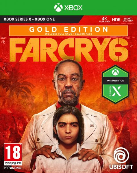 Far Cry 6 Gold Edition uncut inkl. Series X S upgrade (Xbox One CD Version NEU)