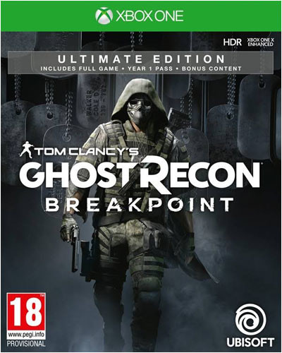 Ghost Recon Breakpoint Ultimate Edition (Xbox One Disc)