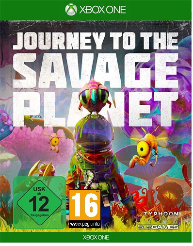 Journey To The Savage Planet (Xbox One Disc)