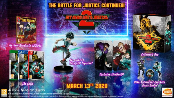 My Hero One's Justice 2 Plus Ultra Collectors Edition (Nintendo Switch)