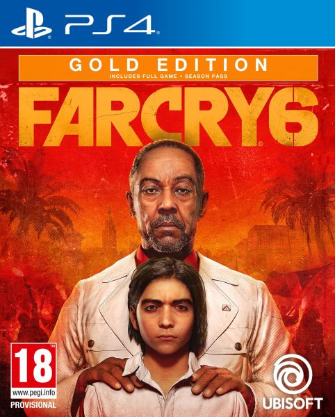 Far Cry 6 Gold Edition uncut inkl. PS5 upgrade (PS4 CD Version Neu)