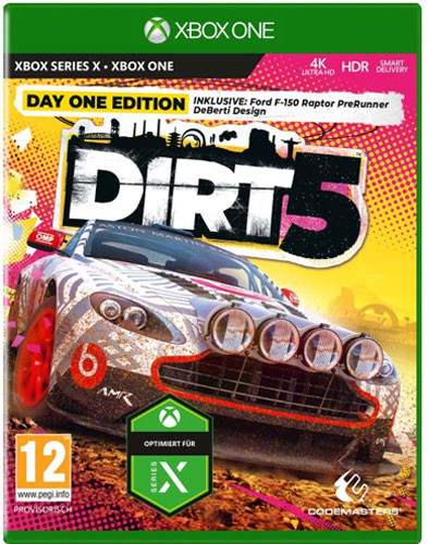 DIRT 5 inkl. Series X S Upgrade Xbox One