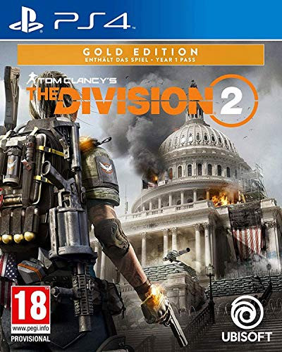 Tom Clancys The Division 2 Gold Edition PS5 Kompatibel PS4