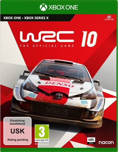 WRC 10 The Official Game Xbox One