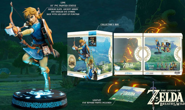 Statue LINK Breath of the Wild Figure Collectors Edition LED Beleuchtung 25 cm