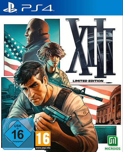 13 XIII Remake Limited Steelbook Edition uncut PS4