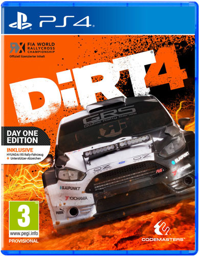 Dirt 4 Day One + DLC (PS4)