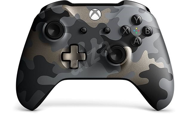 Xbox One S/X Wireless Controller Night OPS Camo Special Edition