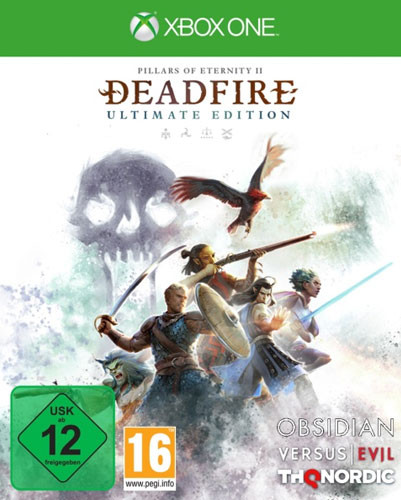 Pillars of Eternity 2 Deadfire Ultimate Edition Xbox One Disc