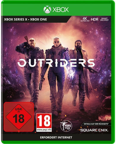 Outriders Day One Edition uncut inkl. Series X S Upgrade (Xbox One)