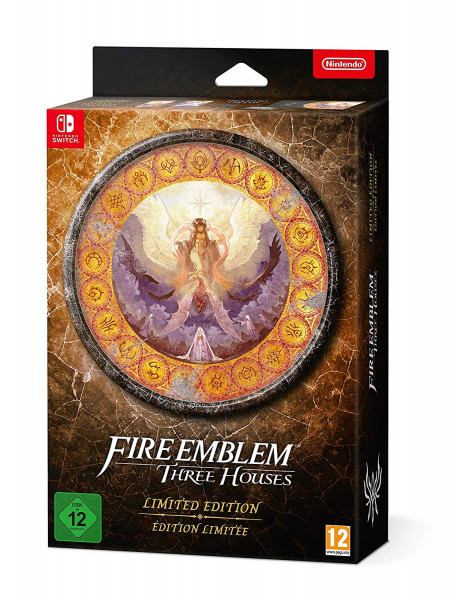 Fire Emblem: Three Houses Limited Edition (Nintendo Switch) usk pegi nintendo switch limited steelbook