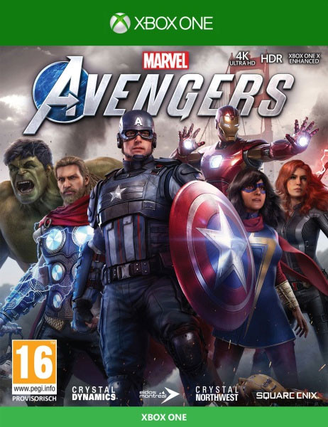 Marvels Avengers inkl. Series X Upgrade Xbox One