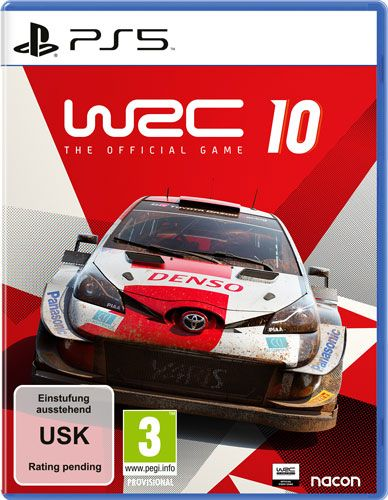 WRC 10 The Official Game PS5