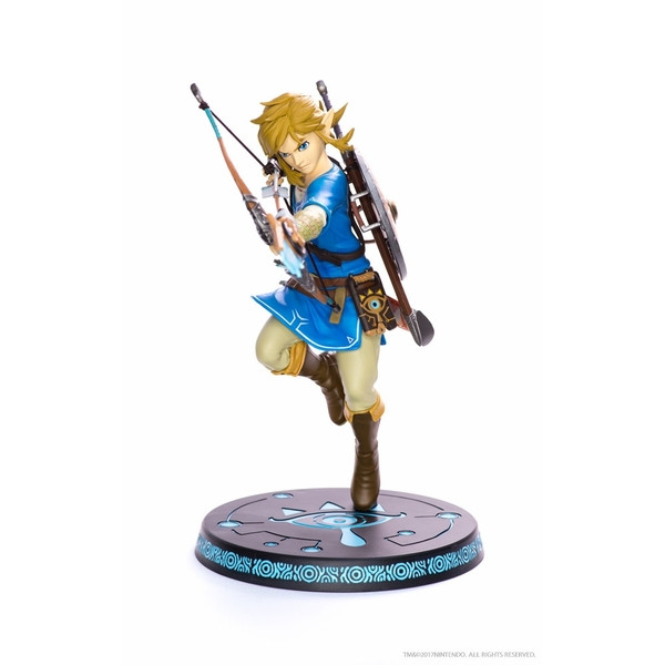 Statue LINK Breath Of The Wild Figure PVC Limited Edition 25 cm