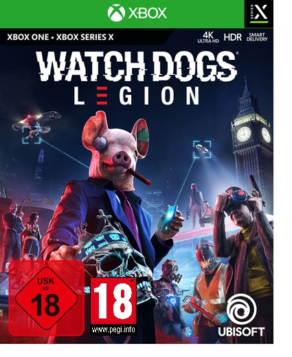 Watch Dogs Legion uncut inkl. Series X|S Upgrade Xbox One