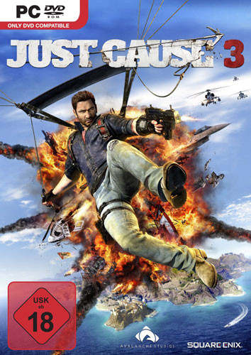 Just Cause 3 PC-DVD BOX Steelbook Edition
