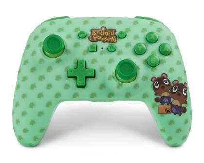 Nintendo Switch Enhanced Wireless Controller Animal Crossing Timmy & Tommy Nook