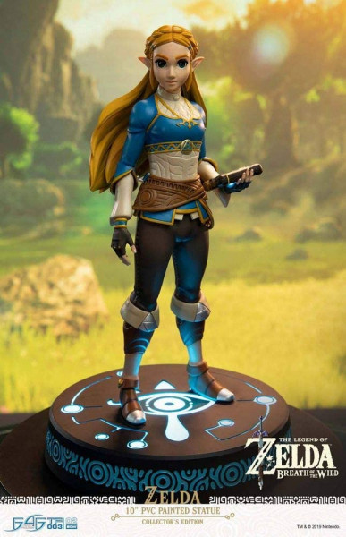 Statue ZELDA Breath of the Wild Figure Collectors Edition LED Beleuchtung 25 cm