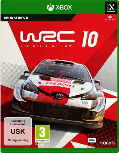 WRC 10 The Official Game Series X S