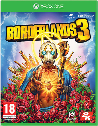Borderlands 3 uncut + Gold Weapon Skin Pack (Xbox One)
