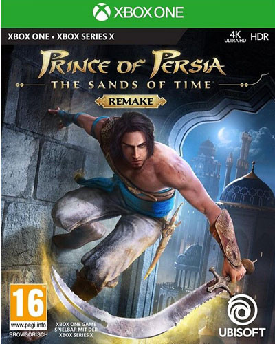 Prince of Persia the Sand of time Remake Series X S kompatibel Xbox One