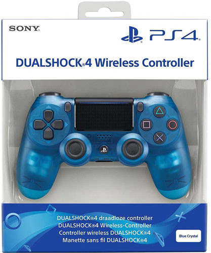 Dual Shock Blue Translucent V2 (PS4)