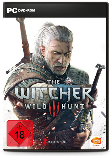 Witcher 3 Wild Hunt Day One inkl. Soundtrack, Karte, Aufkleber