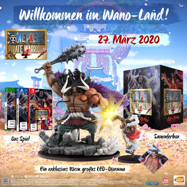One Piece Pirate Warriors 4 Kaido Collectors Edition (PS4)