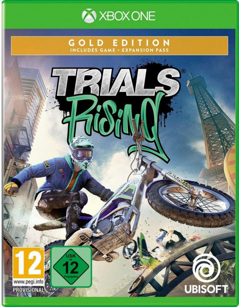 Trials Rising Gold Edition + Artbook (Xbox One)