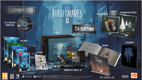 Little Nightmares 2 TV Edition Collectors inkl. PS5 Upgrade (PS4)