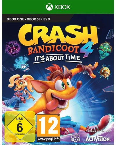 Crash Bandicoot 4 Its About Time (Xbox One)