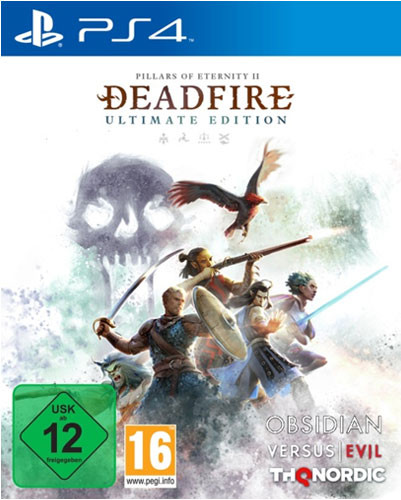 Pillars of Eternity 2 Deadfire Ultimate Edition PS4 Disc