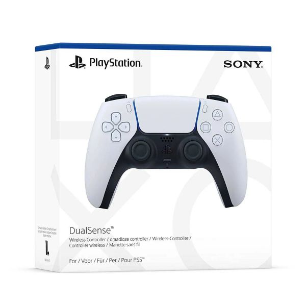 Sony Playstation 5 DualSense Controller White Weiß PS5
