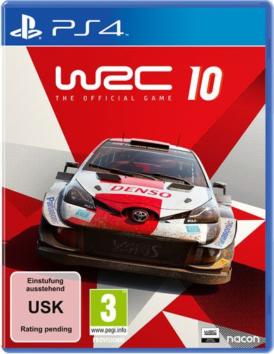 WRC 10 The Official Game PS4