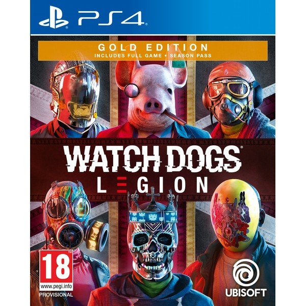 Watch Dogs Legion Gold Edition inkl. PS5 Upgrade (PS4)