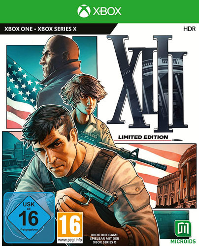13 XIII Remake Limited Steelbook Edition uncut Xbox One