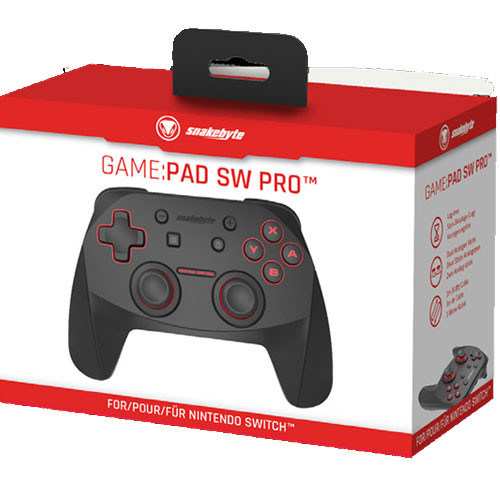 Switch Controller Bluetooth SNAKEBYTE Game: Pad Pro Wireless