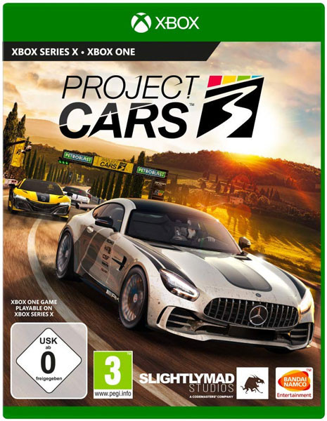 Project Cars 3 Xbox One Disc