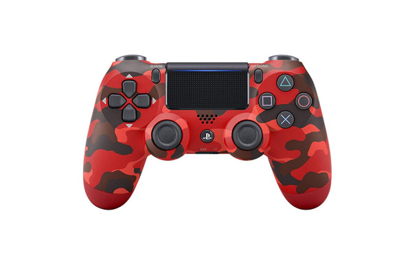 DualShock4 Red Camouflage Controller PS4
