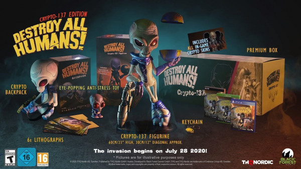 Destroy All Humans Crypto 137 Collectors Edition (Xbox One)