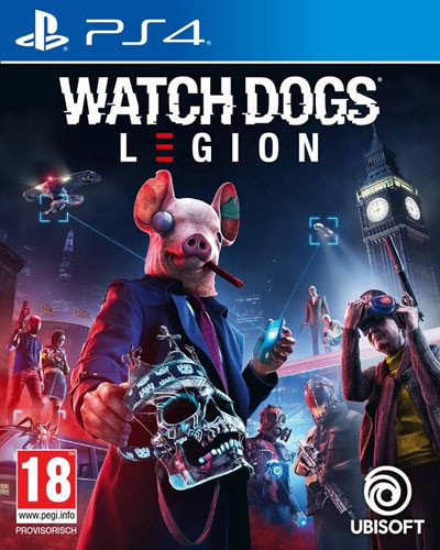 Watch Dogs Legion uncut inkl. PS5 Upgrade PS4